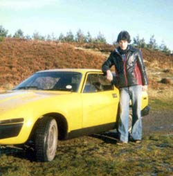 Graham and TR7 1979