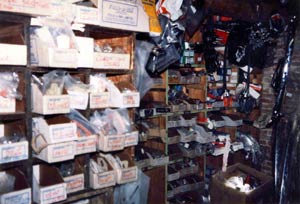 Stag Parts Dept. Digby House Circa 1984