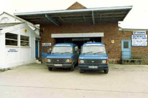 Second premises in Branston 1986