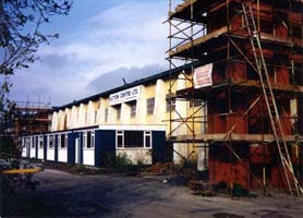 Work in progress at third premises (Bracebridge Heath) to convert from auction house to warehouse storage 1990