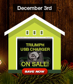 Triumph USB Charger Sale