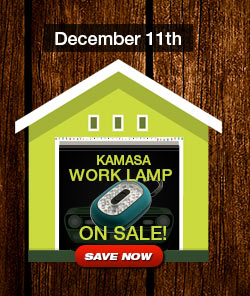 Kamasa Magnetic Work Lamp