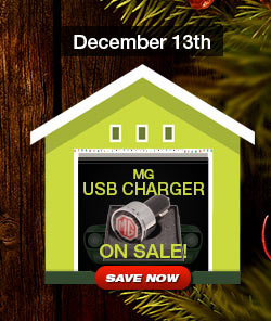 MG USB Charger Sale