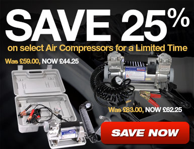 Save 25% on select Air Compressors for a limited time