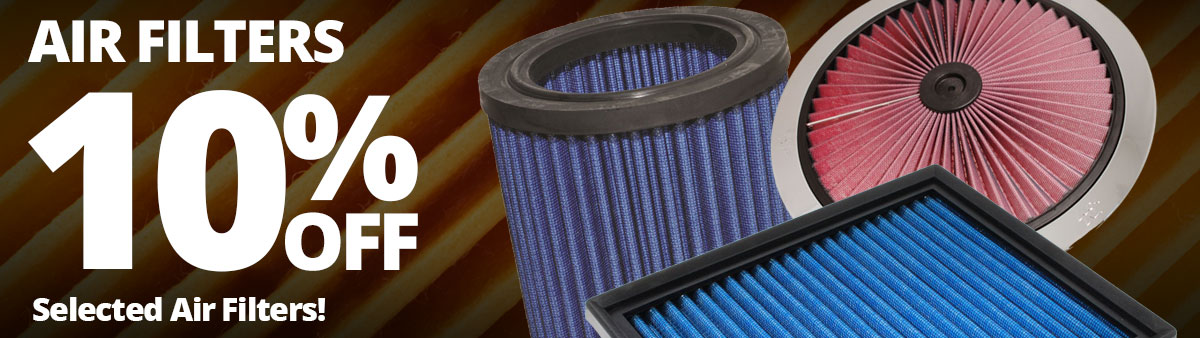 10% Off Selected Air Filters
