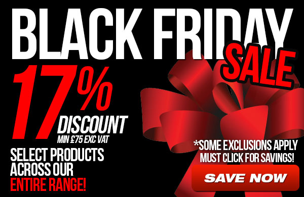 Black Friday Sale - 17% Discount on select products
