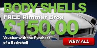 FREE Rimmer Bros $150.00 Voucher with the Purchase of a Bodyshell