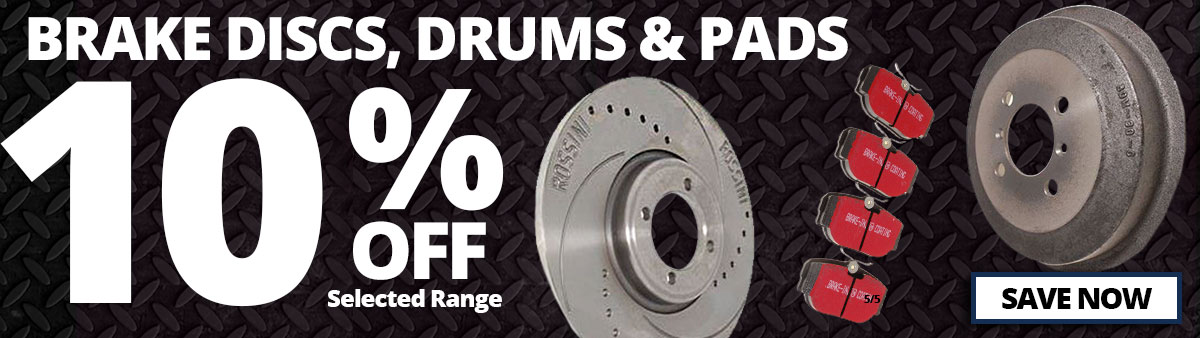 Brake Discs, Drums and Pads Sale