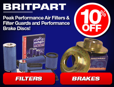 10% Off Britpart Brakes and Filters