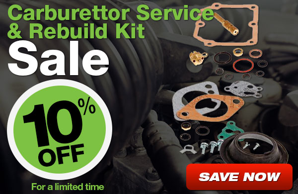 Carburettor Sale 10% Off for a limited time