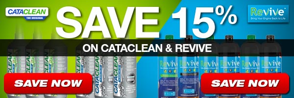 Save 15% on Cataclean and Revive