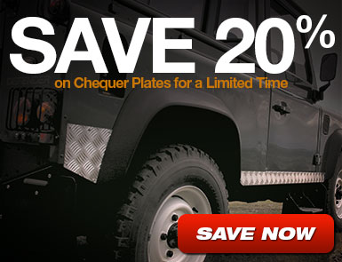 Save 20% on select Chequer Plates
