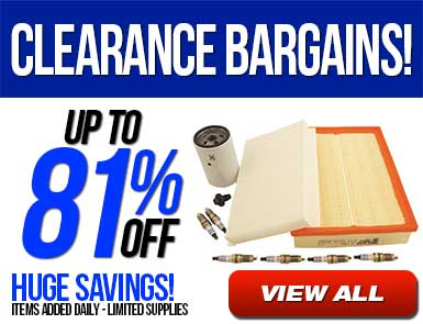 Clearance Bargains - Up to 81% Off