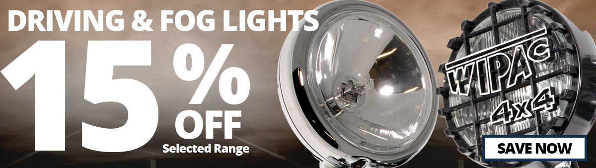 Driving and Fog Lights Sale