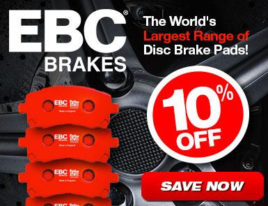 10% Off EBC Brakes