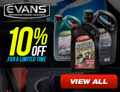 10% Off for Evans Coolants for a limited time