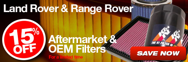 15% Off Aftermarket and OEM Filters