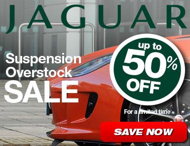 Jaguar Suspension Overstock Sale - Up to 50% Off
