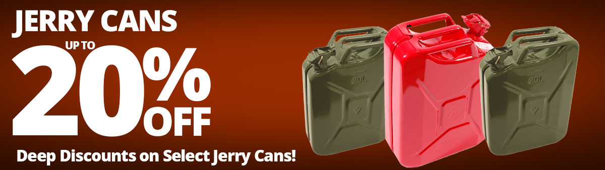 Jerry Cans Sale