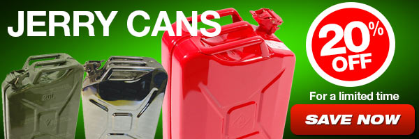 20% Off Jerry Cans