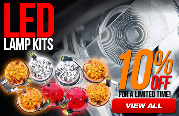 10% Off LED Lamp Kits for a Limited Time
