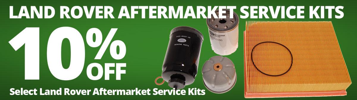 Land Rover Aftermarket Service Kits