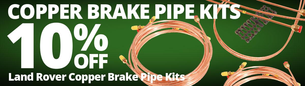 Land Rover Copper Brake Pipe Kits Sale