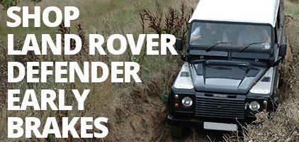 Land Rover Defender 1983-06 Brakes