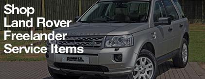 Land Rover Freelander Service Items