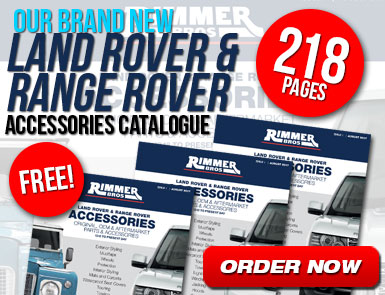 Our Brand New Land Rover and Range Rover Accessories Catalogue