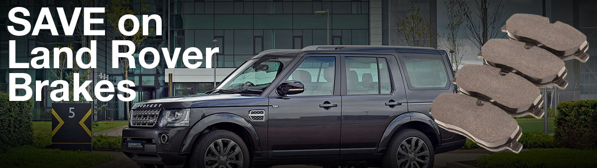 Save on Land Rover Brakes