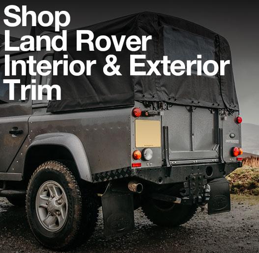 Land Rover Interior and Exterior Trim
