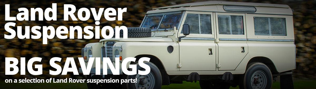 Land Rover Suspension Sale