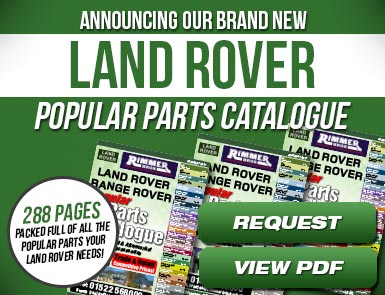 Land Rover Popular Parts Catalogue