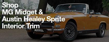 MG Midget & Austin Healey Sprite Interior Trim