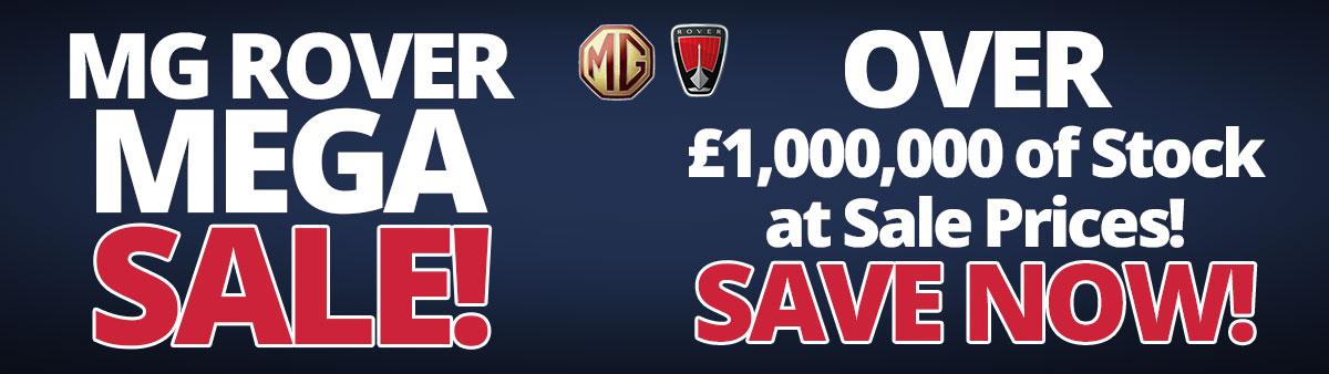 MG Rover Mega Sale