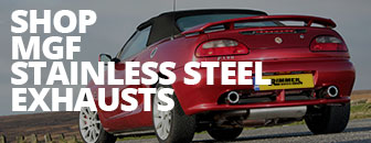 MGF Stainless Steel Exhausts
