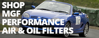 MGF Performance Air and Oil Filters