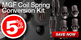 5% Off MGF Coil Spring Conversion Kit