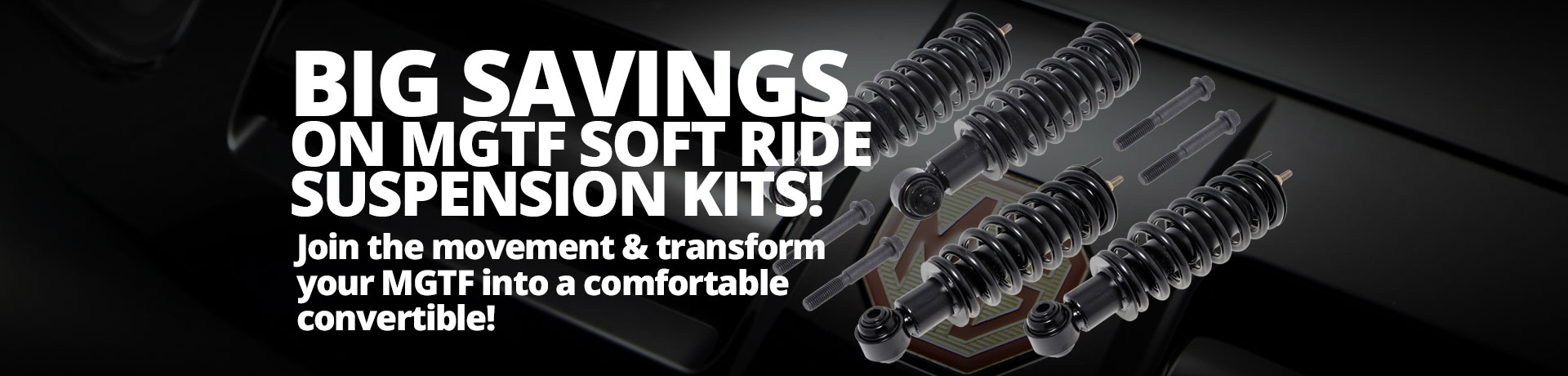 MG TF Factory Soft Ride Suspension Kit
