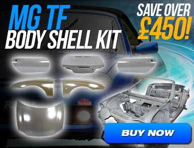 Body Shell Kit - Including Closures - MG TF