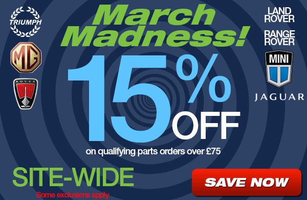March Madness 15% Off Site-Wide some exclusions apply