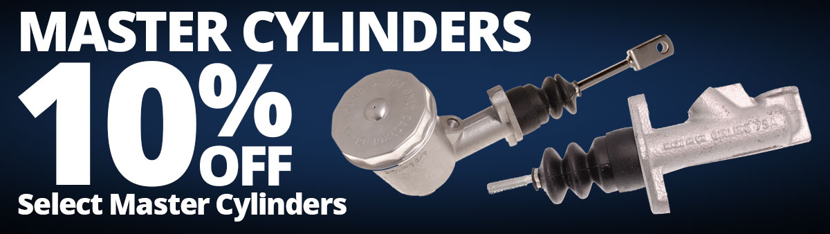 Save 10% on Select Master Cylinders