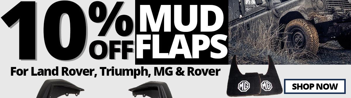 10% Off Mudflaps