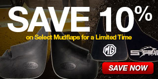 10% Off Select Mudflaps
