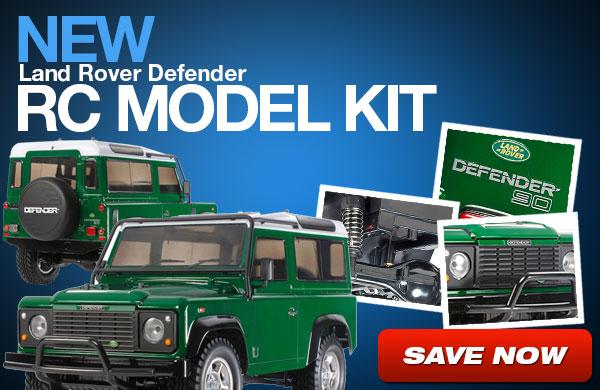 New Defender Remote Control Car Model Kit