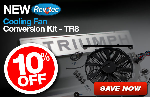 10% Off New Revotec Cooling Fan Conversion Kit - TR8