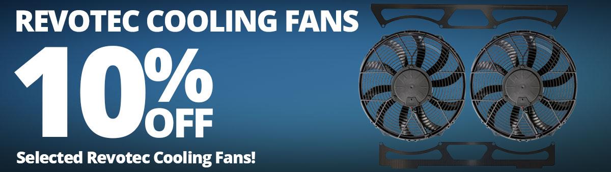 10% Off Revotec Cooling Fans