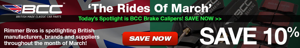 Rides of March - Save 10% on BCC Brake Calipers