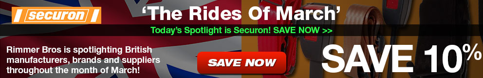 Rides of March - Save 10% on Securon
